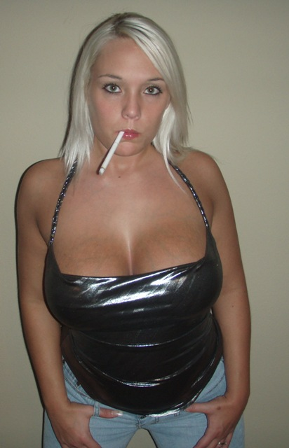 Smoking fetish glamour